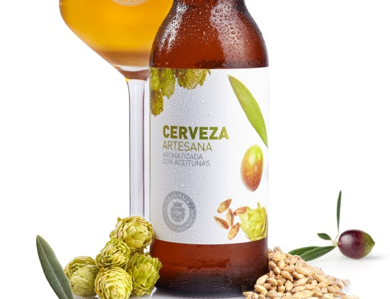 Cerveza aroma aceituna