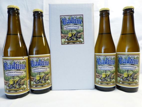 Cerveza de alcachofa Badúm